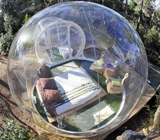 Amazon.com: bubbleu24 (TM) Mobile burbuja tienda inflable ...