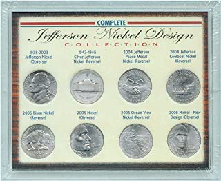 product image for American Coin Treasures Complete Jefferson Nickel Design Collection