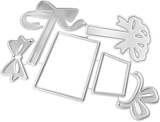 Caja de regalo de metal troqueles de corte para hacer tarjetas ...