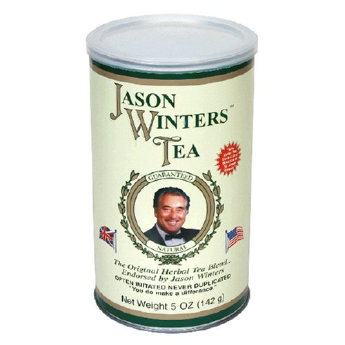 Jason Winters Tea, The Original Herbal Tea Blend, Loose Leaf, 5-Ounce Canisters (Pack of 2) by Jason Winters