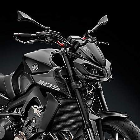 Color : Titanium PUXINGPING Windschutzscheibe Windschutzscheibe for Yamaha MT09 2017 2018 2019