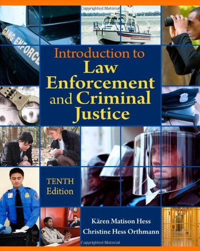 By Kۯren M. Hess - Introduction to Law Enforcement and Criminal Justice (10th Edition) (12.2.2010) ebook
