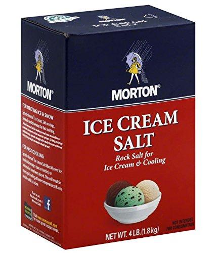 Mortons Salt Rock Morton Ice Cream Salt