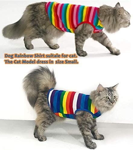 Uvoguepaw - Camisas para perros pequeños, medianos y grandes, talla XS 3