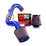 K&N Air Filter + Spyder Cold Air Intake (Blue) - 11-16 Scion tC 2.5L 4cyl SPYDER-681-B/RU-3580