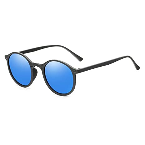 Amazon.com: Vintage Women Men Polarized Sunglasses Round ...