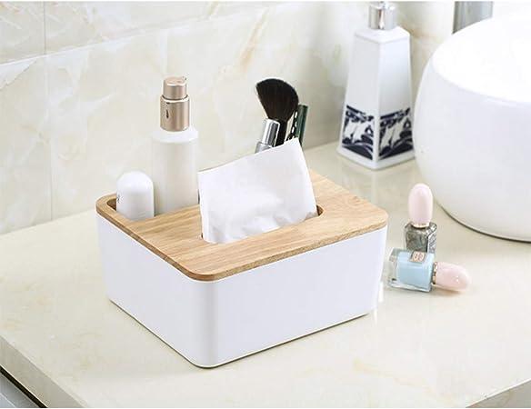 Holz Taschentuchspender Tissue Box Kosmetiktücherbox Serviettenhalter