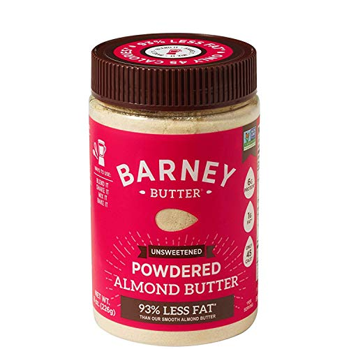 - Barney Butter Powdered Almond Butter, Unsweetened, 8 Ounce