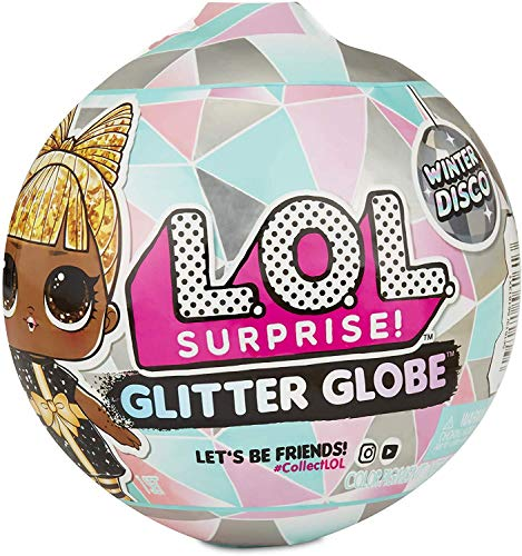 LOL Surprise 561606E7C Globe Glitter Winter Disco, 8 sorpresas
