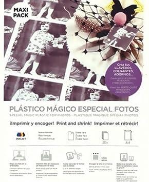 Plástico Mágico ESPECIAL IMPRESORA doble cara 3 láminas A4