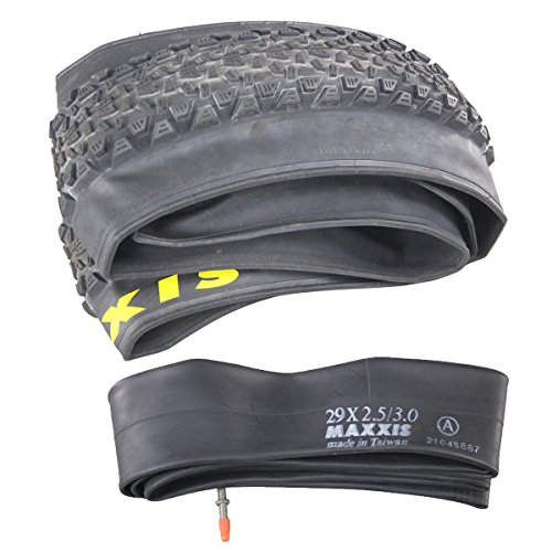 Maxxis 29 Plus 3.0 Inch Foldable Mountain Bike Tire and Tube 1 Piece by ICAN