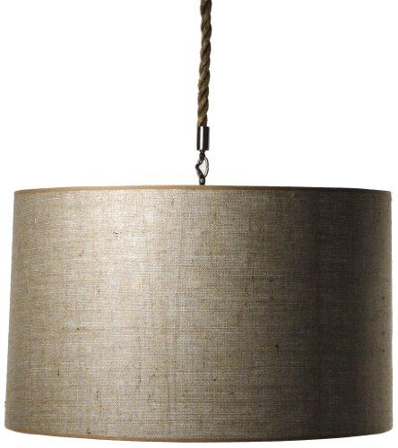ZENTIQUE Drum Shade Hanging Light