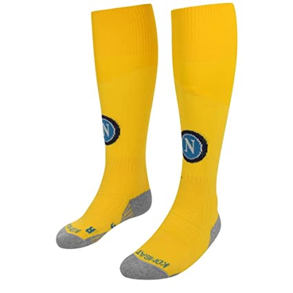 7f281c21b Image Unavailable. Image not available for. Color  Kappa 2017-2018 Napoli  Away Socks (Yellow)