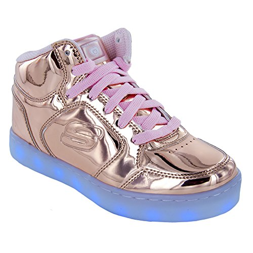 63d906e2a572 Galleon - Skechers Kids Energy Lights-Dance-N-Dazzle Sneaker