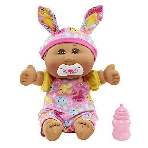 """Search : Cabbage Patch Kids 12.5"""" Baby: African American Girl Doll, Black Hair"""