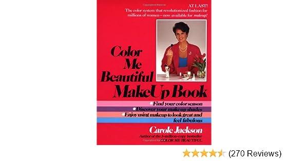 Color Me Beautiful Make Up Book Carole Jackson 9780345348425