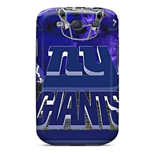 Hard Protect Phone Case For Samsung Galaxy S3 (Qym1921oiya) Support Personal Customs HD New York Giants Pattern