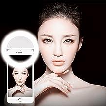 UEB 36 LED Cellphone Selfie Light , Spotlight Ring for iPhone Samsung,Sony, Motorola White
