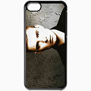 Personalized iPhone 5C Cell phone Case/Cover Skin Andrey Danilko Verka Serdiuchka 4806 Black