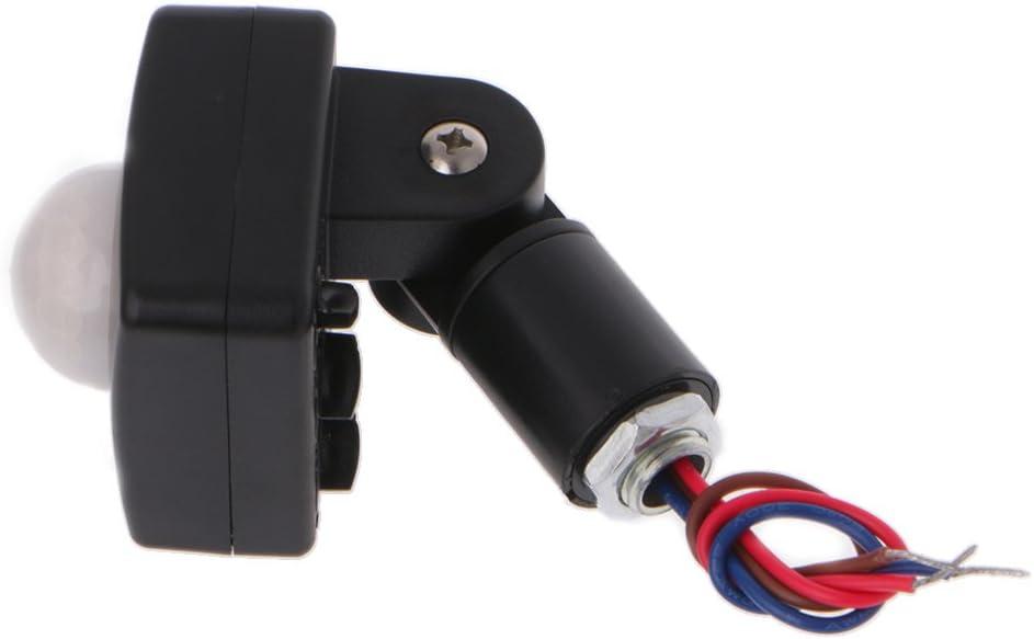 YoungerY Interruptor de luz de la Pared del Detector de Sensor de Movimiento infrarrojo PIR LED 110 /° 100W 110-240V