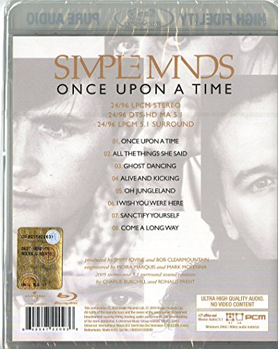 Image result for simple minds once upon a time