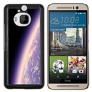 - UNIVERSE COSMOS EARTH PURPLE ATMOSPHERE PLANET - Caja del tel¨¦fono delgado Guardia Armor- For HTC One M9+ / M9 PLUS Devil Case