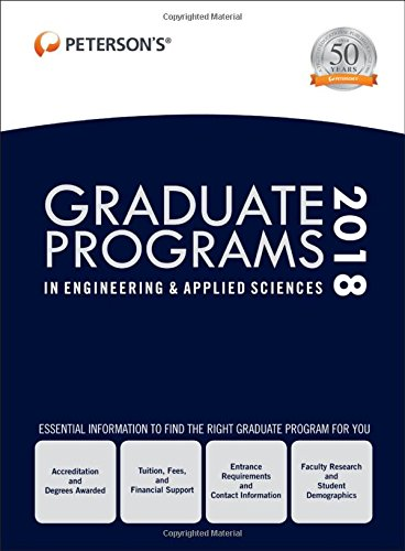 Graduate Programs in Engineering & Applied Sciences 2018 (Peterson