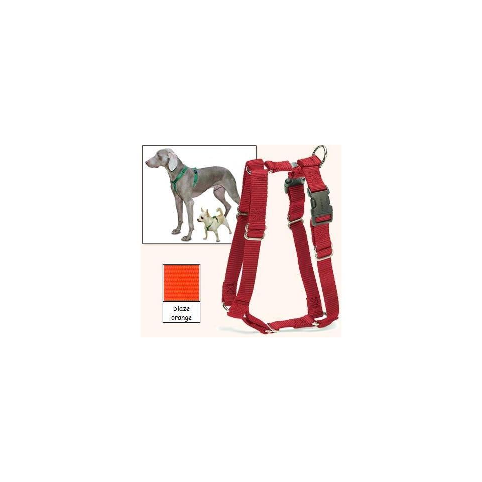 Sure Fit Dog Harness, 5 Way Adjustability for a Perfect Fit (Blaze Orange, X Petit)