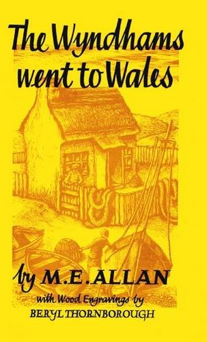 book cover of The Wyndhams Went to Wales