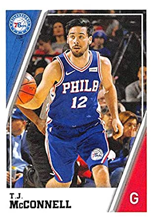 2018-19 Panini NBA Stickers Collection  177 T.J. McConnell Philadelphia  76ers Official Basketball Sticker 963d18d4e