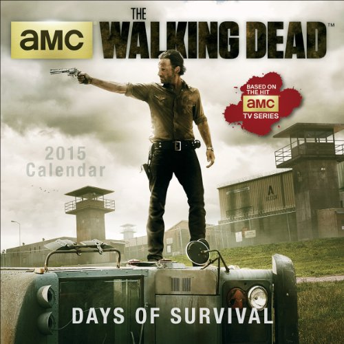 The Walking Dead 2015 Mini - 2015 Walking Dead Calendar