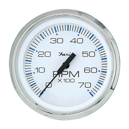 Faria 33817 Chesapeake 7000 RPM - Tachometer Faria Marine