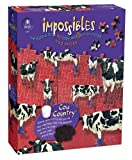 Impossible 750-Piece Cow Country Puzzle