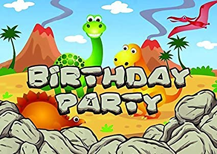 Amazon Com 10 Dinosaurs Theme Birthday Party Invitations Invites