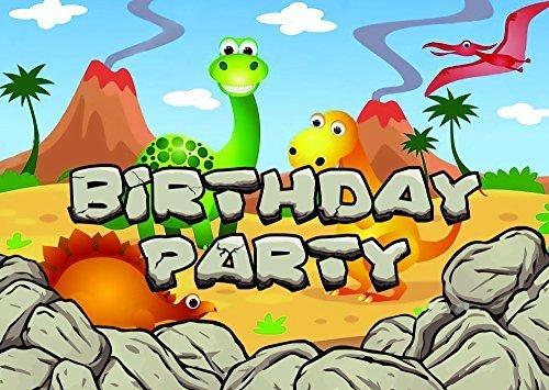10 Dinosaurios Temática Invitaciones Fiesta Cumpleaños ...