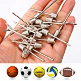 Ball Pump Inflating Needle Sports Equipment Parts Accessories for Football and Basketball, 20 Pcs