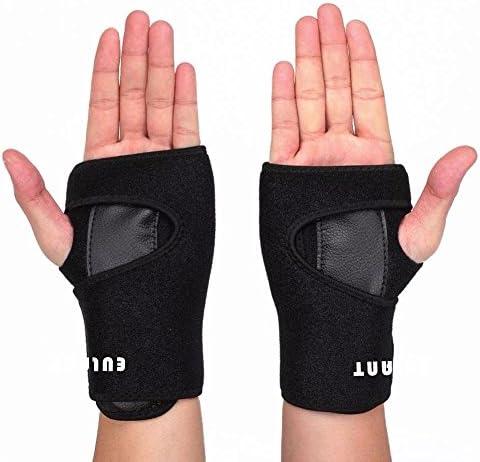 ONT Handgelenkstütze Unisex Einstellbar Handgelenkschiene Unterstützung mit Blech Handgelenkschutz zum Gewichtheben...