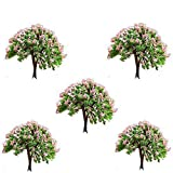 Buytra 5-Piece Miniature Fairy Garden Tree Plant