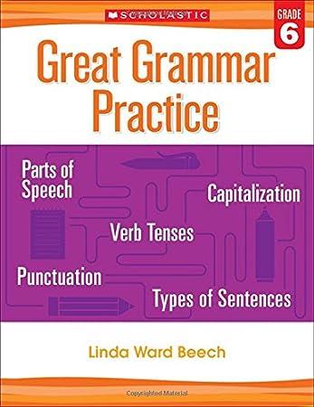 Great Grammar Practice: Grade 4: Linda Beech: 9780545794244 ...