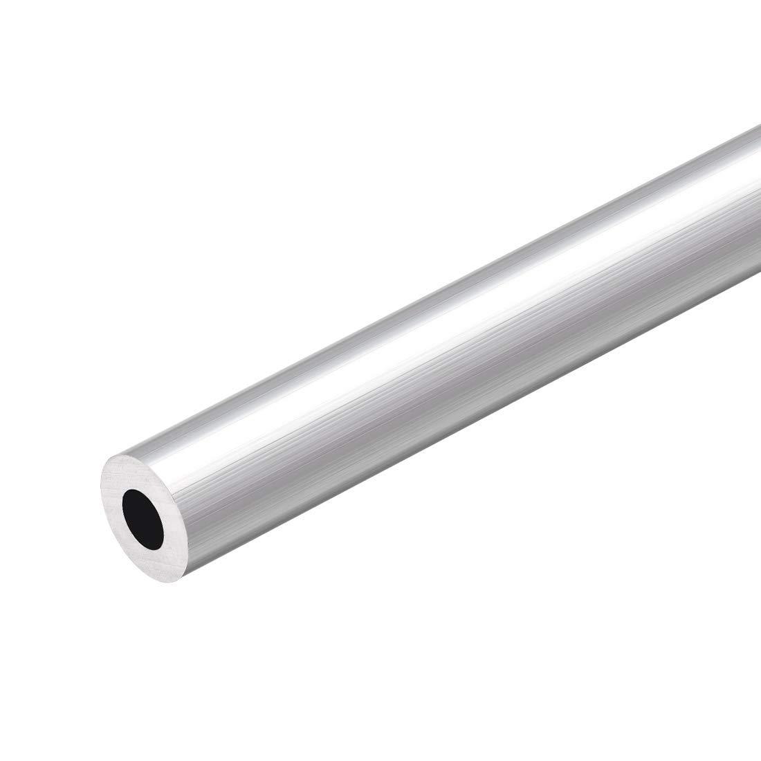 Aluminium Rundrohr AlMgSi05 /Ø 8x1,5mm L/änge 1000mm 100cm auf Zuschnitt