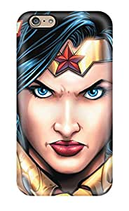 High Grade Katlando Flexible Tpu Case For Iphone 6 - Wonder Woman