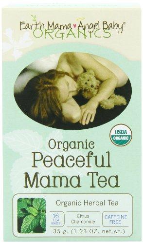 Earth Mama Angel Baby Bio pacifique Mama Tea, 16 sachets / boîte (Pack de 3)