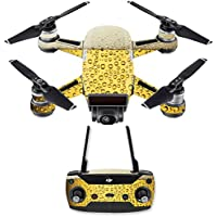 Skin for DJI Spark Mini Drone Combo - Beer Buzz| MightySkins Protective, Durable, and Unique Vinyl Decal wrap cover | Easy To Apply, Remove, and Change Styles | Made in the USA