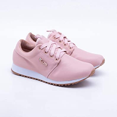 96a7aa76fb Tênis Coca-Cola Shoes Sense Cetim Rose Feminino 35  Amazon.com.br ...