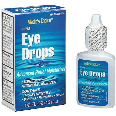 Eye Drops - Industrial Strength for Welder's Arc