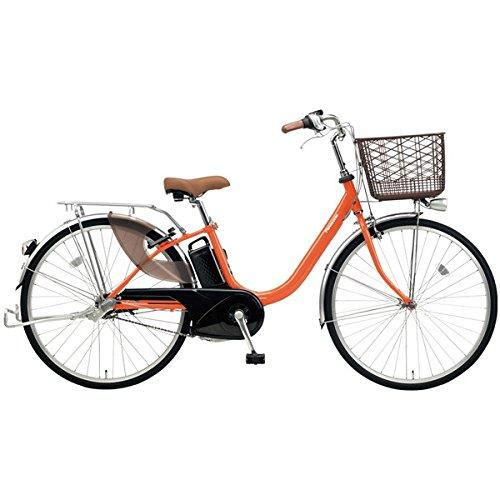 Panasonic(パナソニック) 2018年モデル ビビLU 26インチ BE-ELLU632 電動アシスト自転車 専用充電器付 B077V8KHD4 K:ラセットオレンジ K:ラセットオレンジ