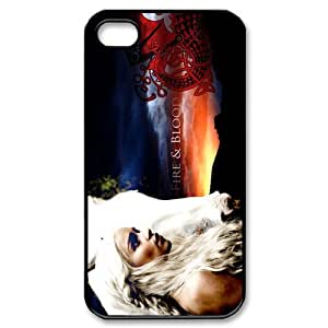 Game Of Thrones Plastic Protective Case Slim Fit For iphone 4 4S