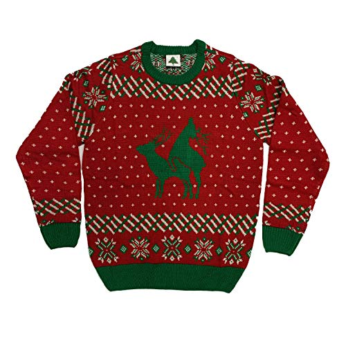 Reindeer Funny Ugly Christmas Sweater