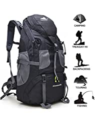 Loowoko Hiking Backpack Lightweight Waterproof Daypacks for Climbing, Hiking, Fishing, Traveling, Cycling, Weekend...