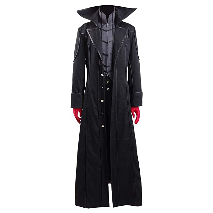 VOSTE P5 Akira Kurusu Cosplay Costume Joker Outfit Halloween Long Jacket Full Set